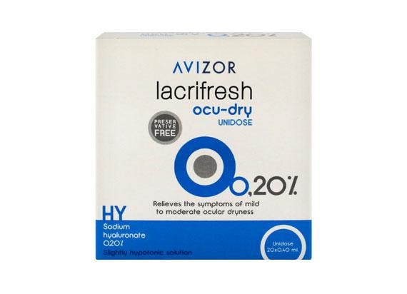 Avizor lacrifresh ocu-dry 0,2% (20x0,4ml)